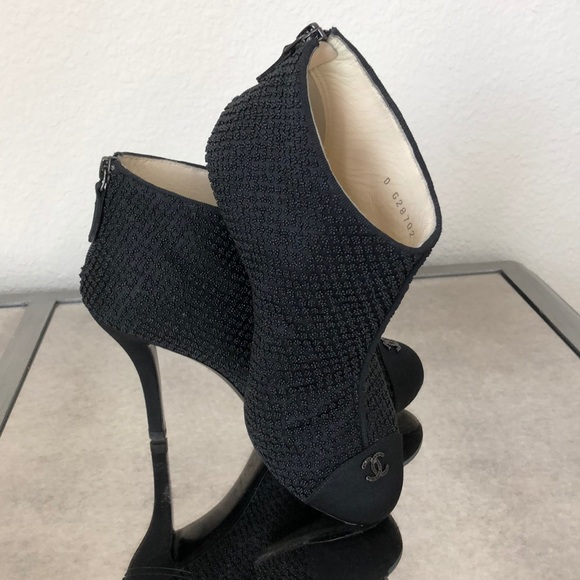 CHANEL Shoes - Authentic CHANEL Ankle Booties Limited Edition 35